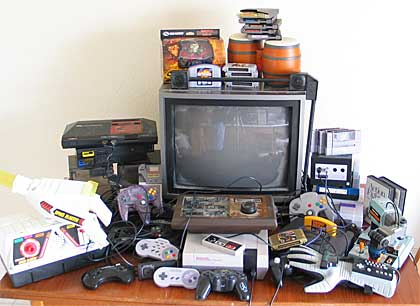 the tv game console