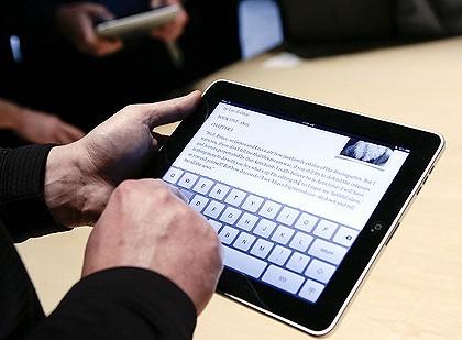 using iPad for work