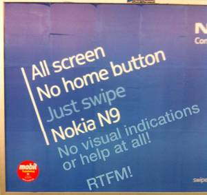 Nokia N9 marketing
